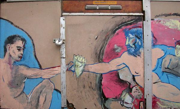Street art, Amsterdam, Netherlands