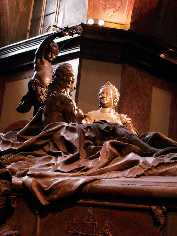 Tomb of Maria Theresa and Franz I, Kaisergruft, Vienna, Austria