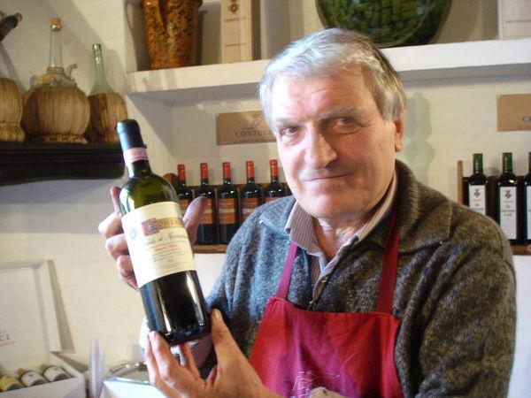 Wine merchant, Montepulciano, Italy