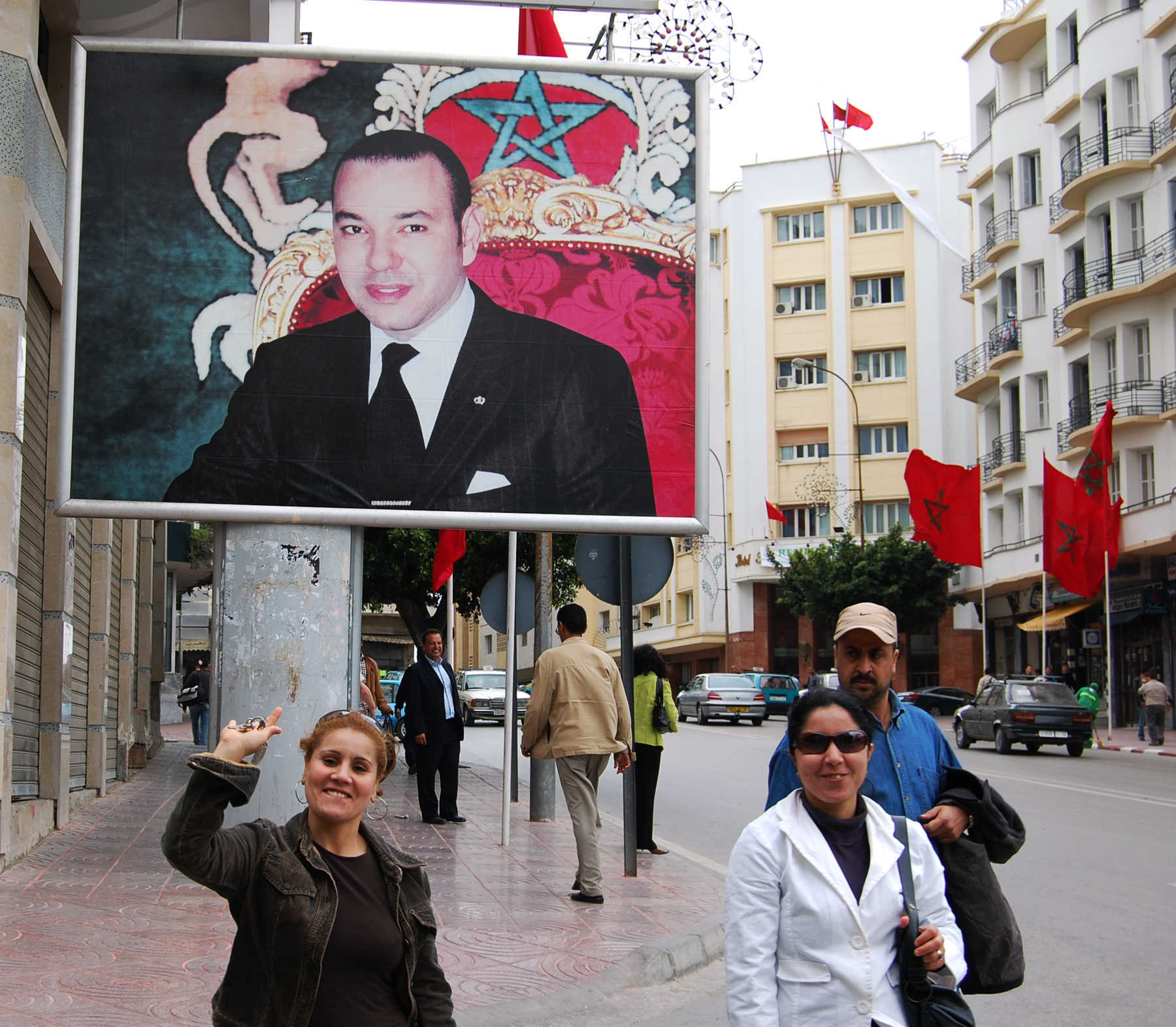 Poster of King, Tangier, Morocco