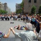 Sardana Dancers, Barcelona, Catalunya, Spain