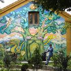 Decorated House, Christiania, Copenhagen, Denmark