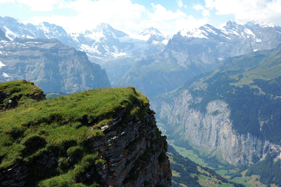 Lauterbrunnen Valley, Berner Oberland, Switzerland