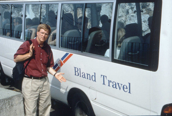 Rick with Bland Travel Bus