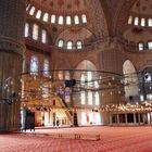 Blue Mosque Interior, Istanbul, Turkey