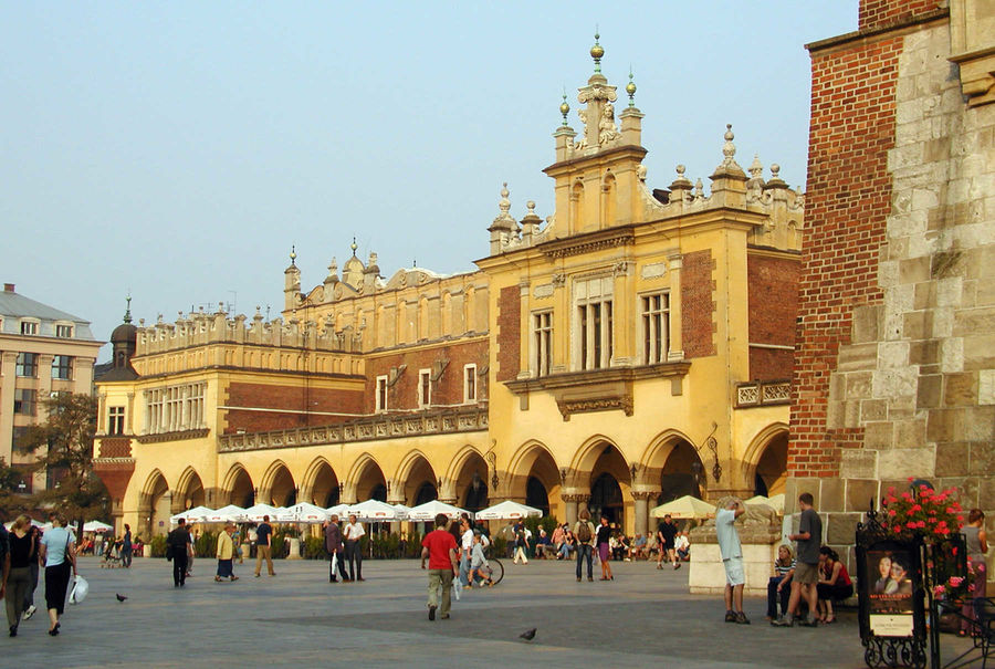 Cloth Hall and Main Market Square, Kraków, Poland
