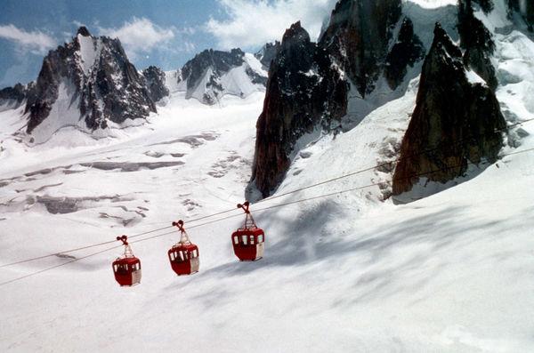 Mt. Blanc Gondolas, Chamonix, France