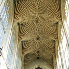 Abbey Ceiling, Bath, England
