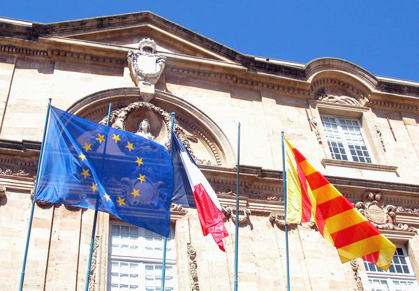 Flags, Aix-en-Provence, France
