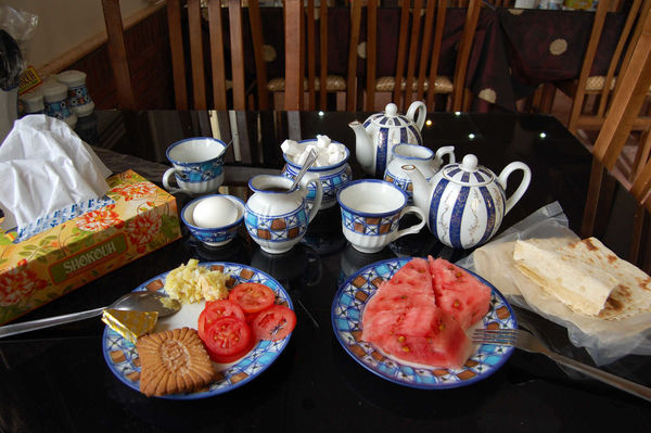 Breakfast Table, Iran