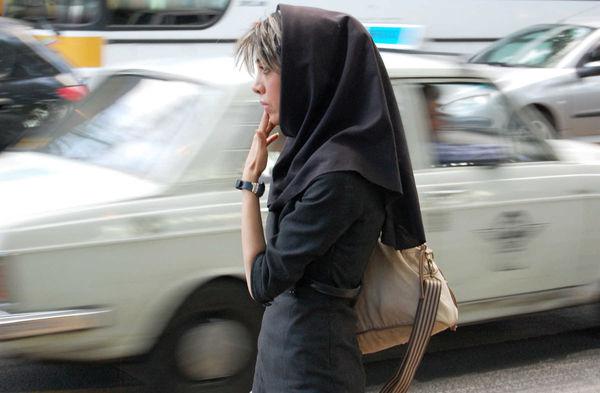 Woman with Bangs, Iran