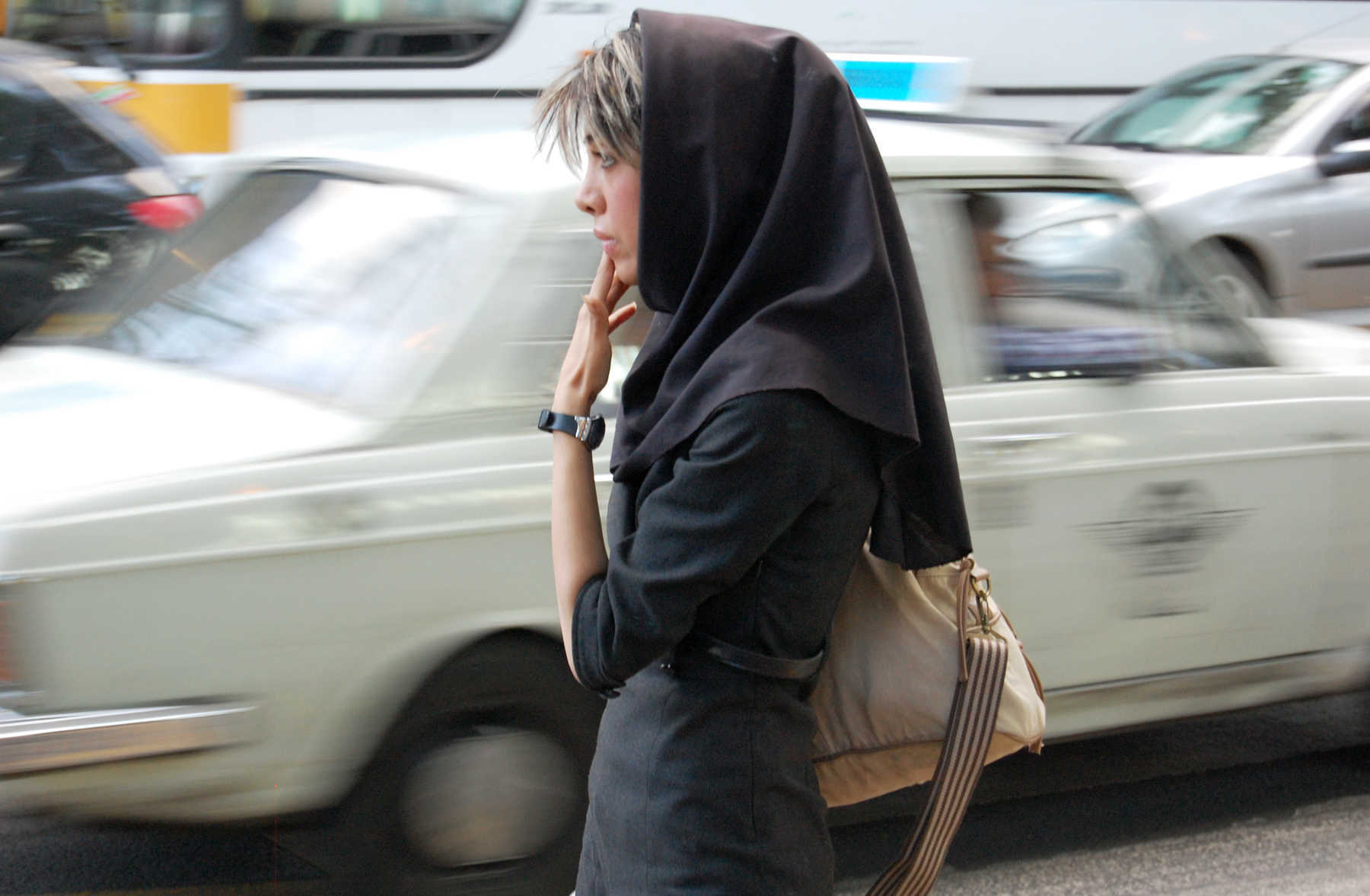 Woman with Bangs, Iran