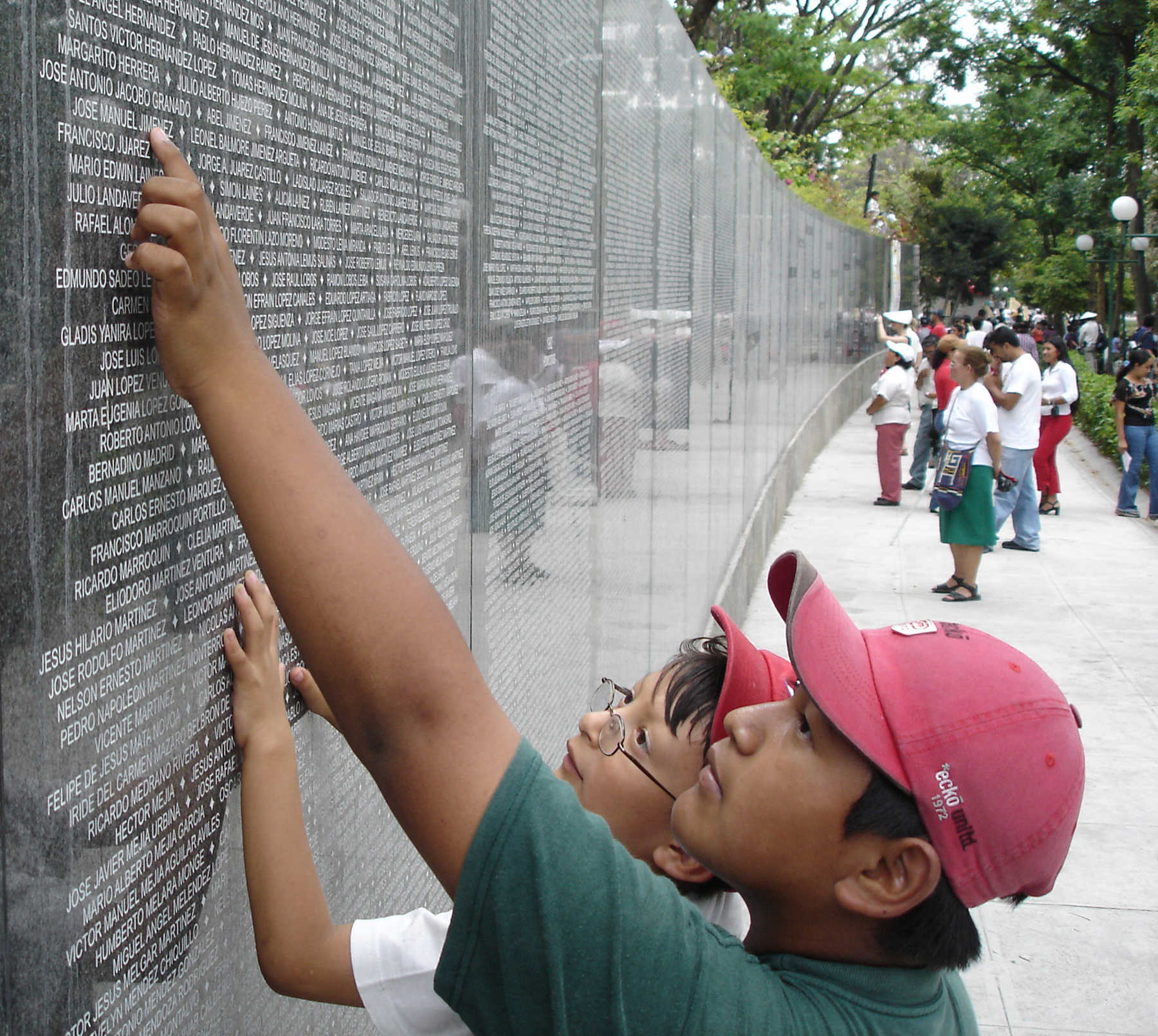 Memorial Wall, El Salvador