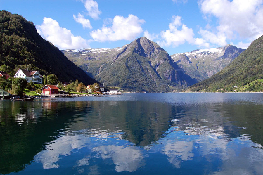 Sognefjord, Balestrand, Norway
