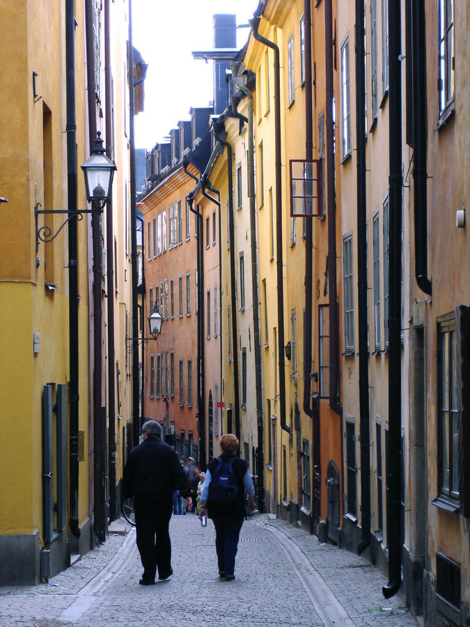 Gamla Stan neighborhood, Stockholm, Sweden