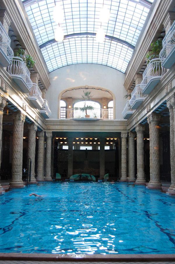 Gellért Baths, Budapest, Hungary