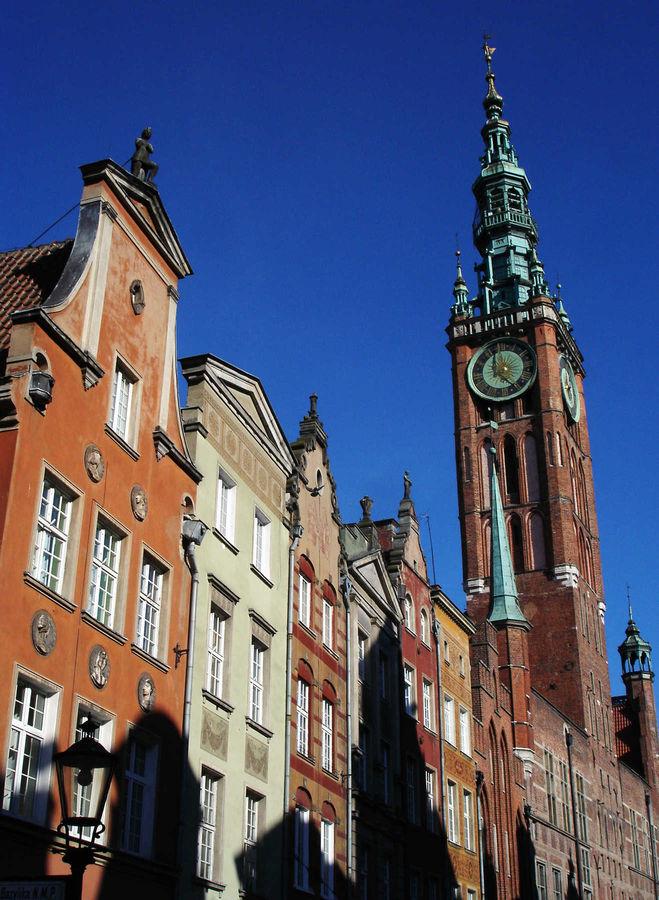 Along ulica Długa, Gdańsk, Poland