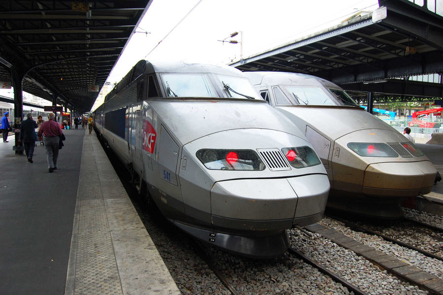 TGV Bullet Trains, France
