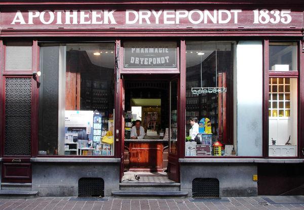 Pharmacy, Bruges, Belgium