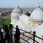 View from Tower, Pisa, Italy