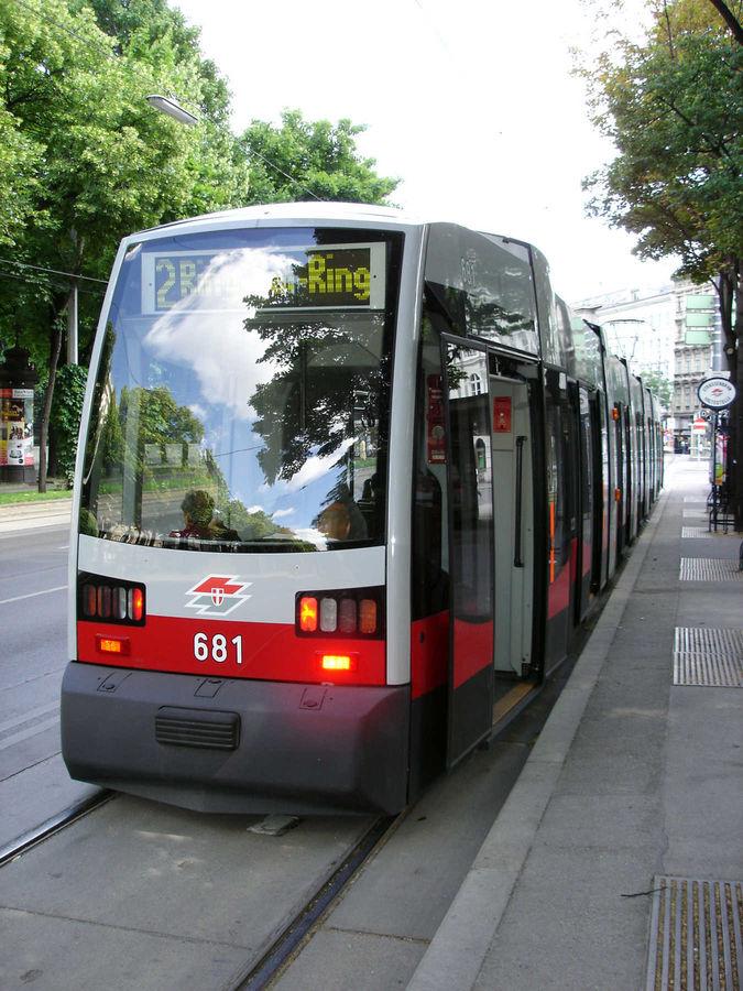 Tram #2, Vienna, Austria