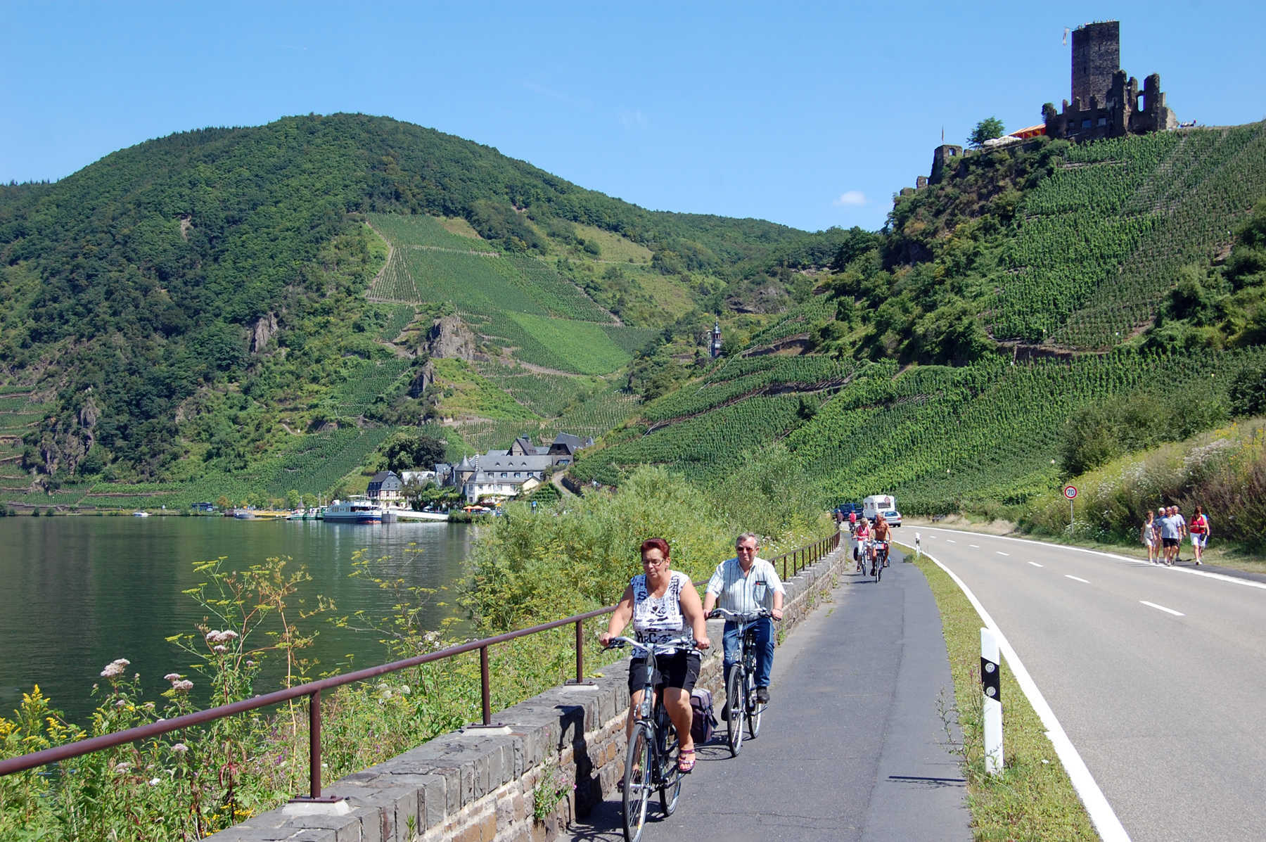 Bike Path, Beilstein, Mosel Valley, Germany