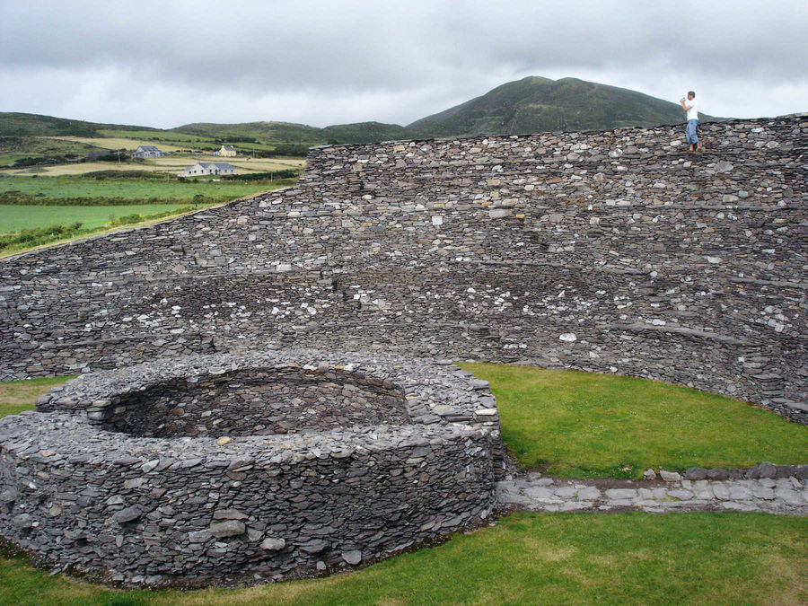Leacanabuaile Ring Forts, Iveragh Peninsula, Ring of Kerry, Ireland