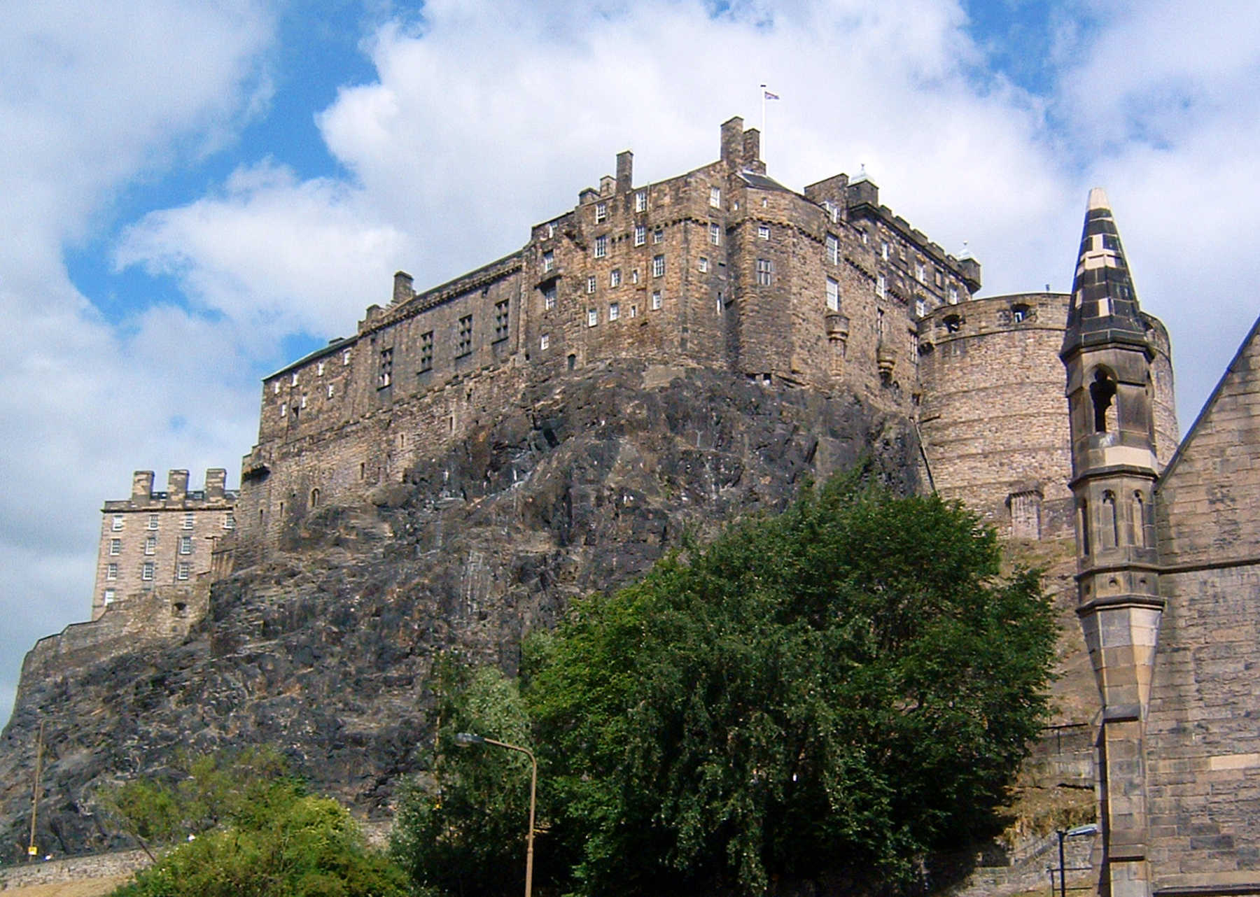 Edinburgh Castle Exterior, Edinburgh, Scotland