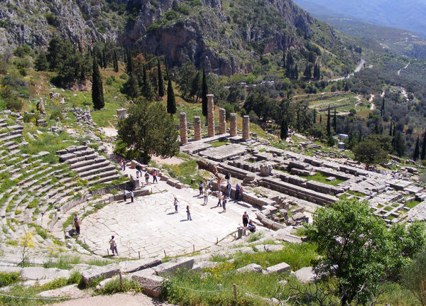 Sanctuary of Apollo, Delphi, Greece
