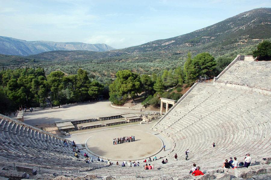 Theater, Epidavros, Greece