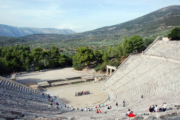 Theater, Epidavros, Greece