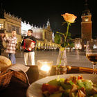 Main Square at Night, Krakow, Poland