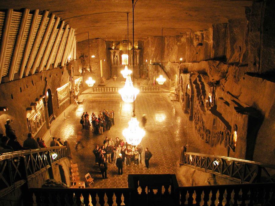 Wieliczka Salt Mine, near Kraków, Poland