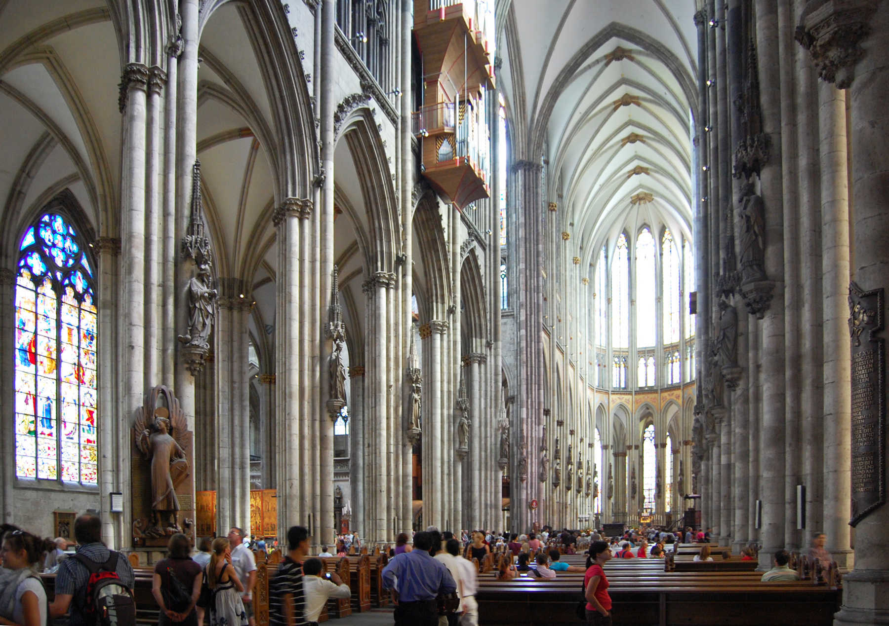 Cathedral Interior, Koln, Germany