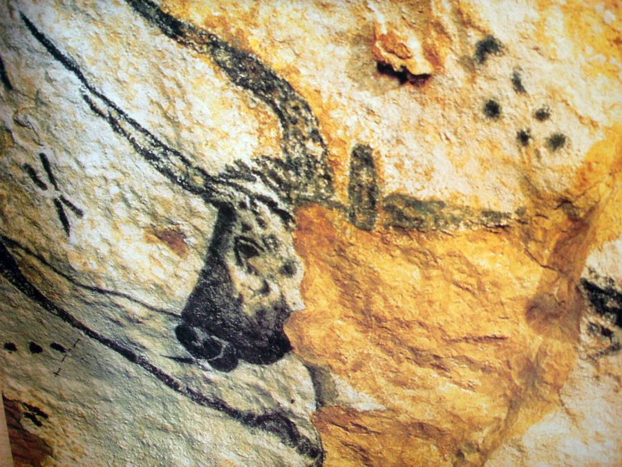 Cave painting, Lascaux, France
