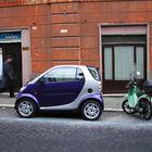 Smart Car in Paris, France