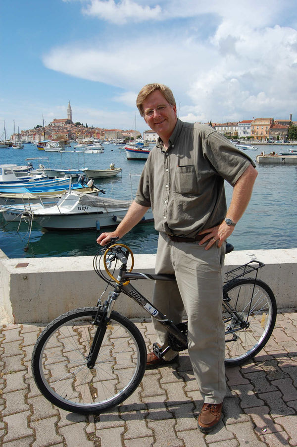 Rick in Rovinj, Croatia