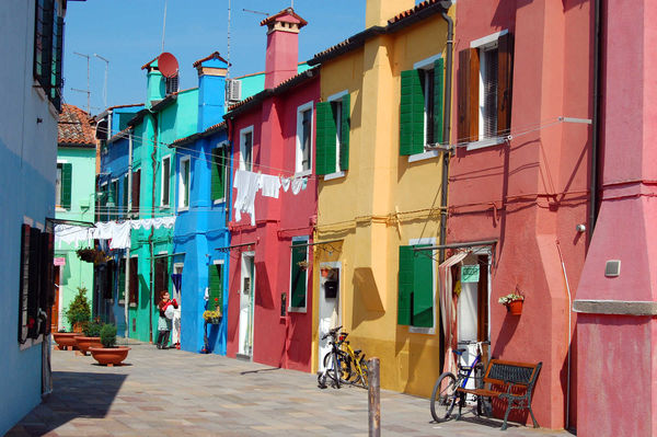 Burano, Venetian lagoon, Italy