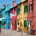 Colorful Houses, Burano, Venice, Italy