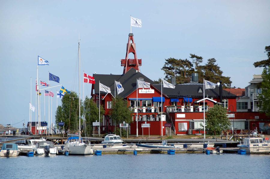 Sandhamn Harbor, Stockholm Archipelago, Sweden