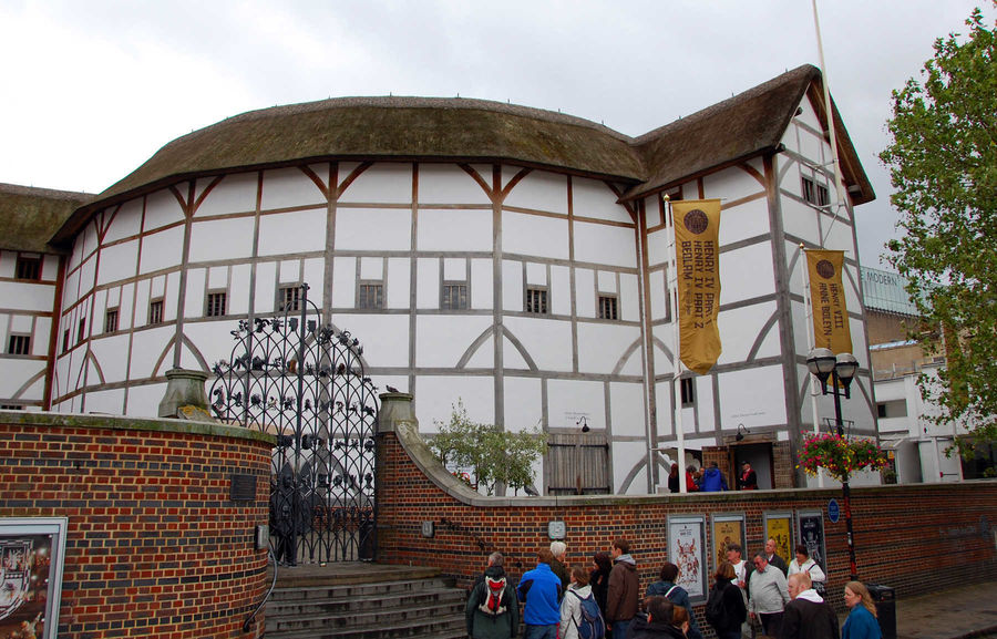 Shakespeare's Globe Theatre, London, England