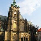 St. Vitus Cathedral Exterior, Prague, Czech Republic