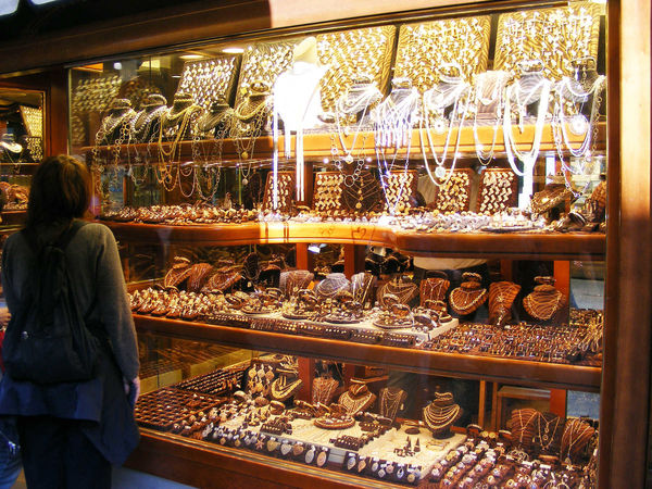 Jewelry shop, Florence, Italy