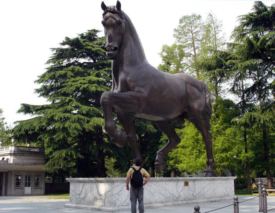 Leonardo's Horse, Milan, Italy