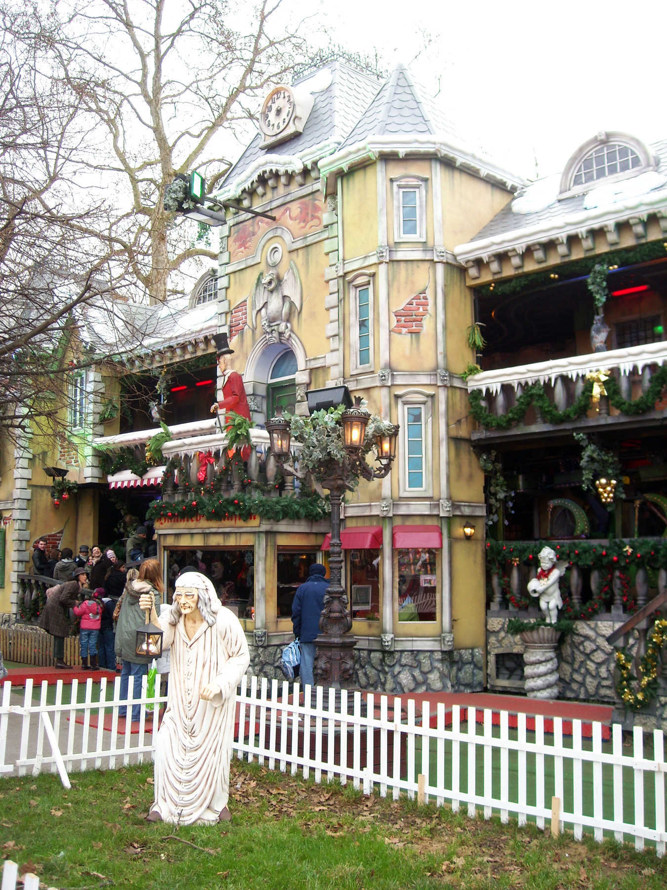 Winter Wonderland Fair, Hyde Park, London, England