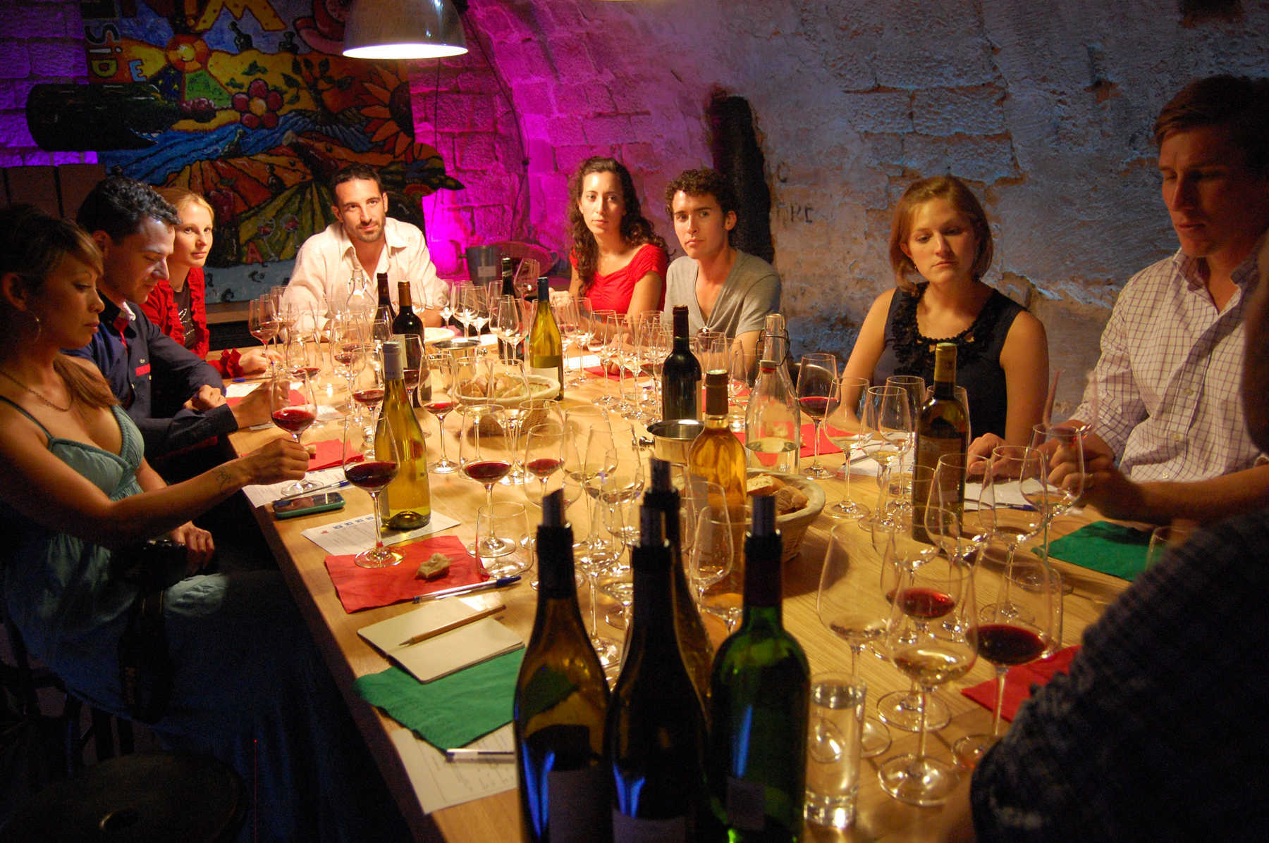 Wine Tasting Group, Paris, France