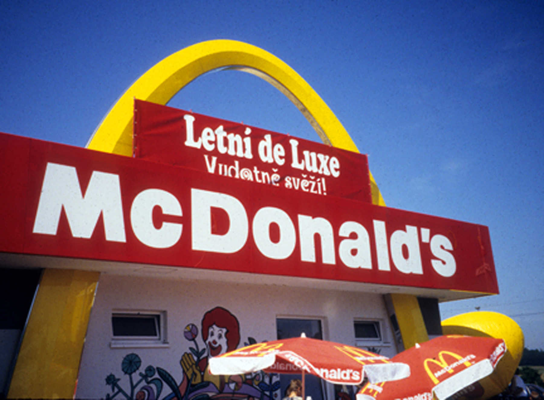 McDonalds Sign, Czech Republic