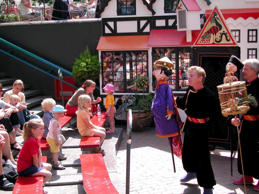 Puppet show, Tivoli Gardens, Copenhagen, Denmark