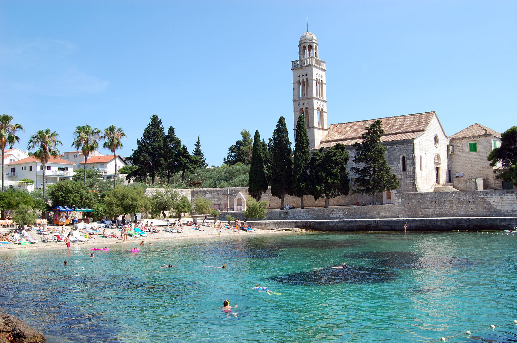 Beach, Hvar, Croatia