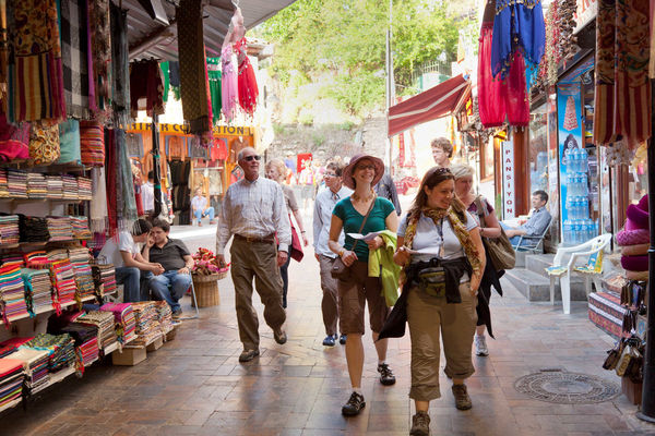 Market browsing, Antalya, Turkey
